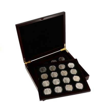 Collection of Morgan Silver Dollars Including Better Date 1900-O