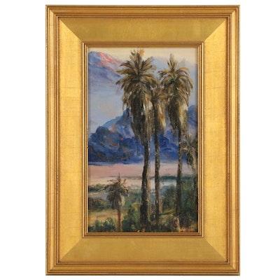 William P. Silva California Oil Painting