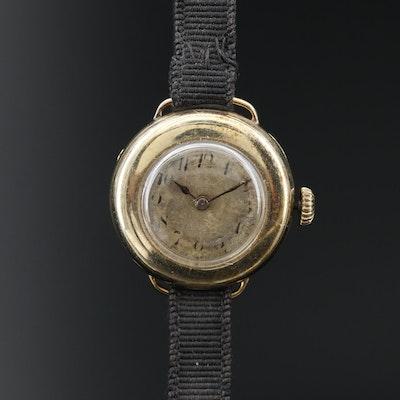 Vintage 14K Gold Blancpain Wristwatch