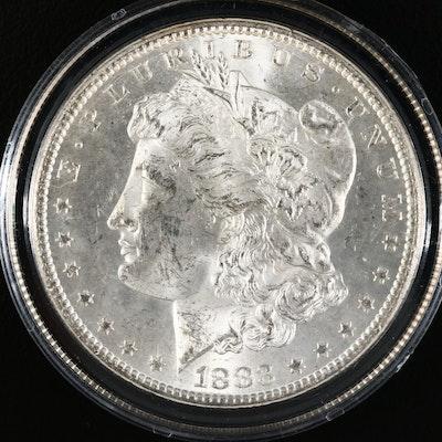 Better Date Low Mintage 1883-CC Morgan Silver Dollar
