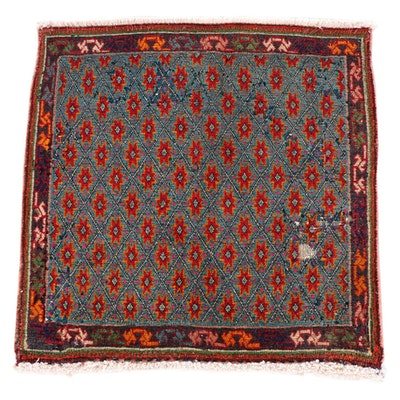 2'0 x 2'0 Hand-Knotted Northwest Persian Wool Floor Mat