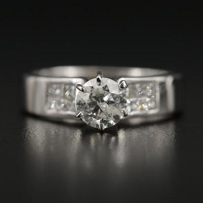 18K 1.35 CTW Diamond Ring