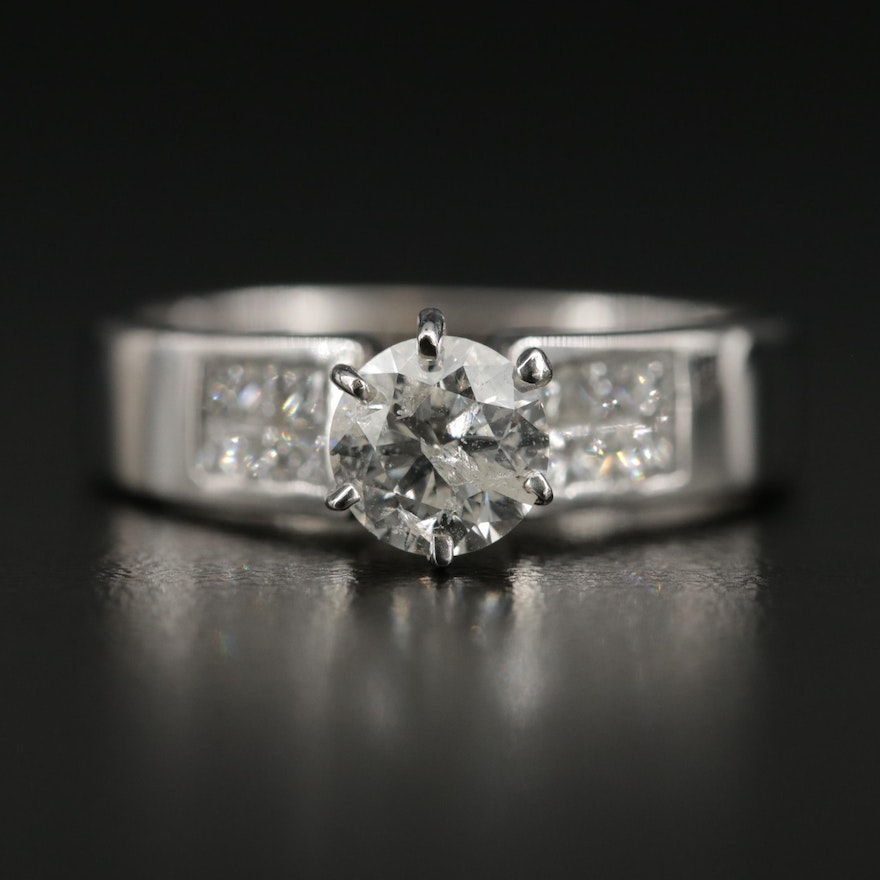 18K 1.35 CTW Diamond Ring