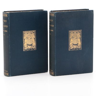 """1900 """"A History of Scotland from the Roman Occupation"""" by Andrew Lang"""