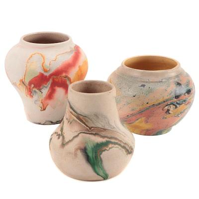 Nemadji Pottery and Other Art Pottery Vases