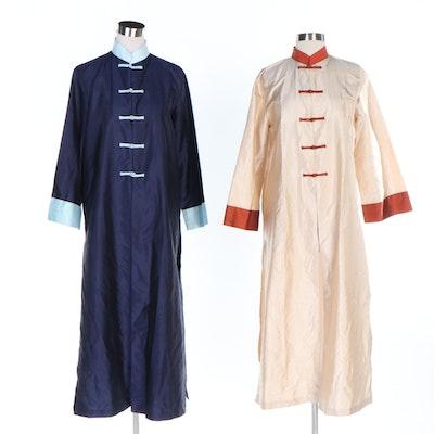 Thai Silk Mandarin Style Long Jackets