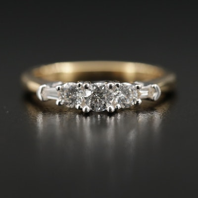 18K 0.48 CTW Diamond Ring