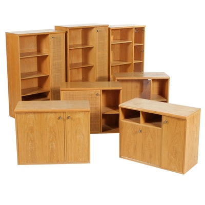 Modular Wall Units, Set of Seven, Late 20th Century