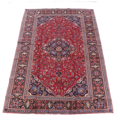 8'7 x 12'7 Hand-Knotted Persian Wool Rug