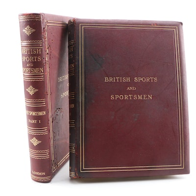 """Limited Edition """"British Sports and Sportsmen: Sportsmen of the Past"""""""