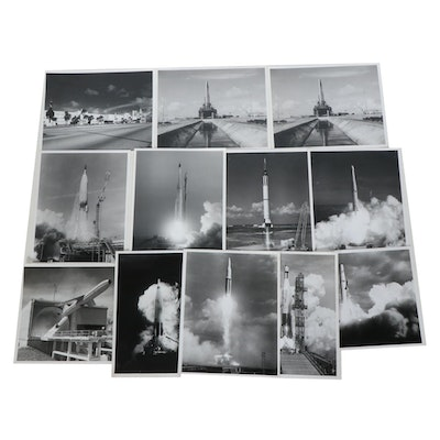 U.S. Air Force Eastern Test Range Black and White Photographs, c. 1960