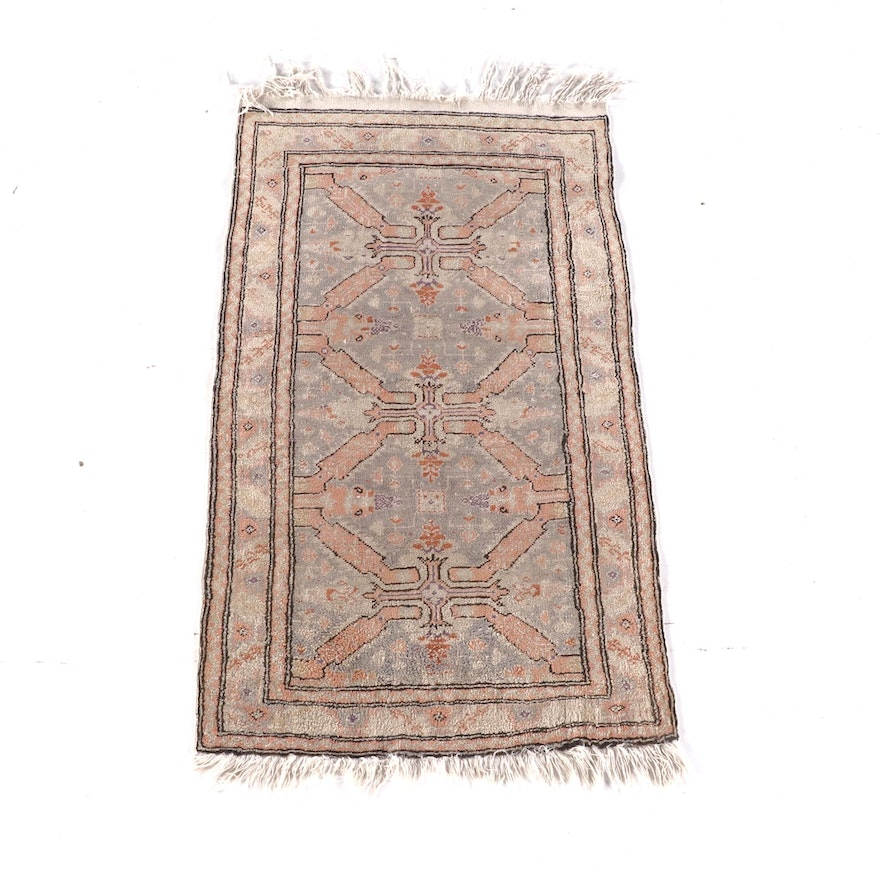 2'0 x 3'9 Hand-Knotted Wool Rug