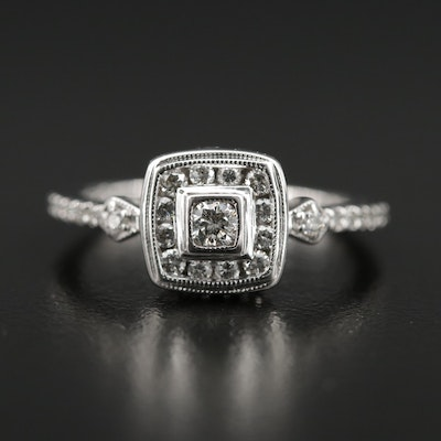 14K 0.50 CTW Diamond Ring