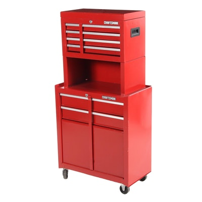 Craftsman Metal 6-Drawer Tool Chest, Late 20th Century