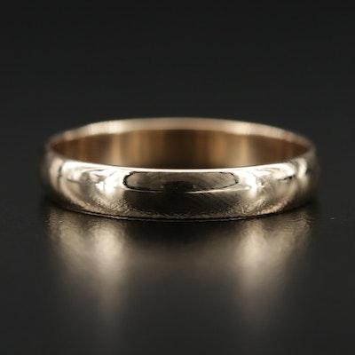 10K Band Ring