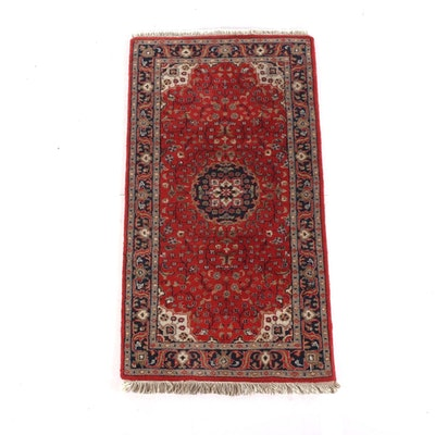 3'0 x 5'11 Hand-Knotted Persian Isfahan Wool Rug
