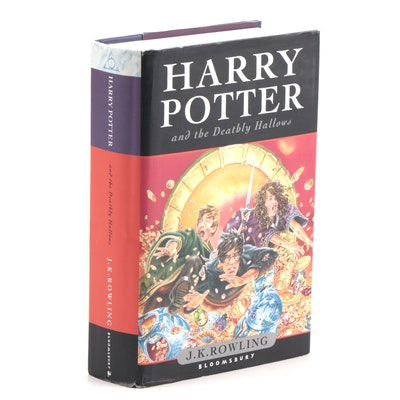 "First UK Edition ""Harry Potter and the Deathly Hallows"" by J.K. Rowling"