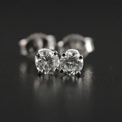 14K Gold 0.44 CTW Diamond Studs