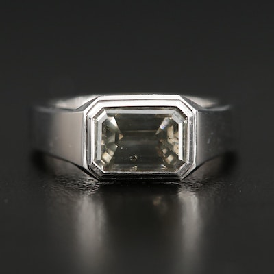 18K Gold 2.01 CT Diamond Ring