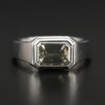 18K Gold 2.01 CT Diamond Ring