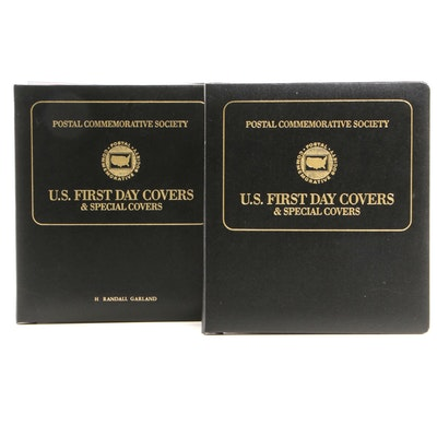 First Day Covers From the Postal Commemorative Society, 1990s