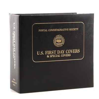 Postal Commemorative Society Album of First Day Covers, Early 2000s