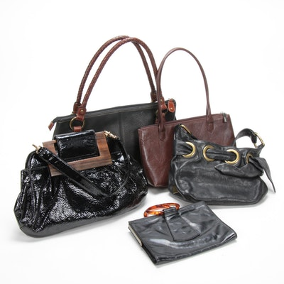 Fossil, Zina Eva, Hobo International, Kooba Top Handle Bags
