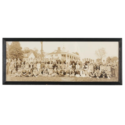 Merchantville High School Class Photo at Mt. Vernon, 1936