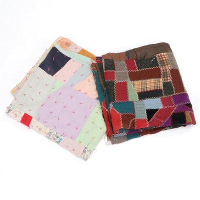 Handcrafted Patchwork Crazy Quilts
