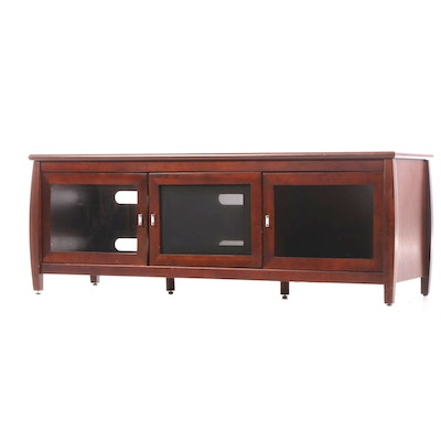 Tech Craft Contemporary Birch Media Cabinet