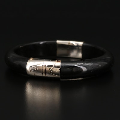 Serpentine Hinged Bracelet