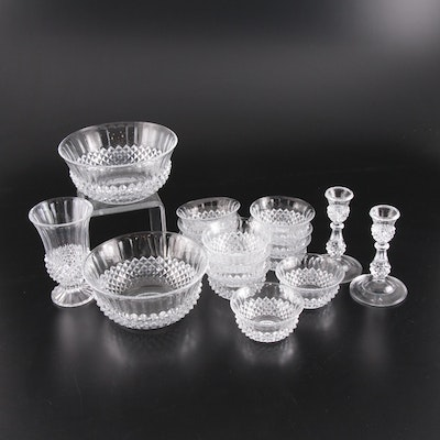 "Cristal d'Arques ""Longchamp"" Glass Serveware and Tableware"