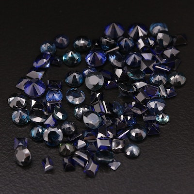 Loose 15.42 CTW Mixed Faceted Sapphire