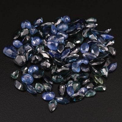 Loose 32.85 CTW Sapphires