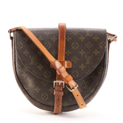 Louis Vuitton Chantilly GM Bag in Monogram Canvas and Vachetta Leather, Vintage