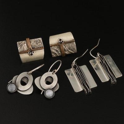 Sterling Silver Earring Assortment Featuring Brenna Klassen Glanzer