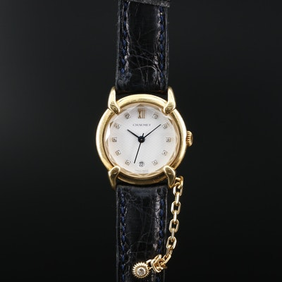 18K and Diamond Chaumet Paris Wristwatch