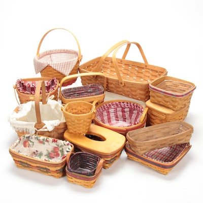 Longaberger Handwoven Baskets