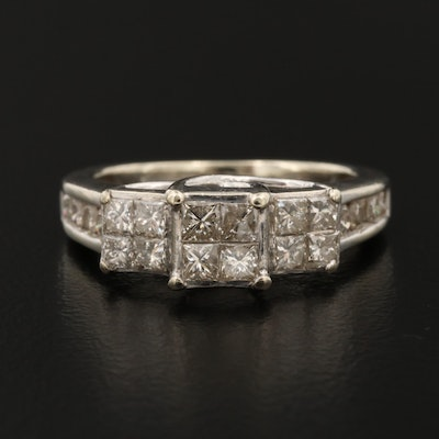 10K Gold 1.22 CTW Diamond Ring