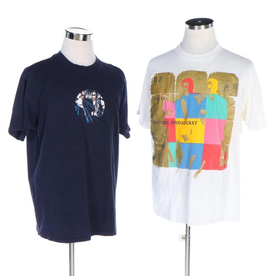 U2 Discothèque and Zoo TV Outside Broadcast Tour T-Shirts