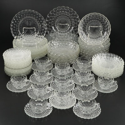 Anchor Hocking Bubble Glass Dinnerware, 1934–1965