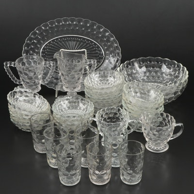 "Anchor Hocking ""Bubble"" Glass Dinner and Serveware, 1934–1965"