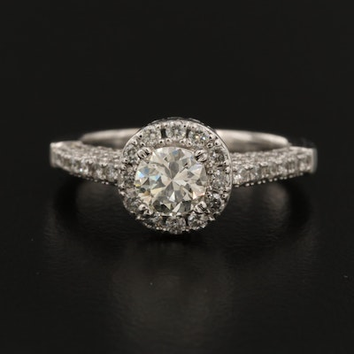 14K Gold 1.33 CTW Diamond Ring