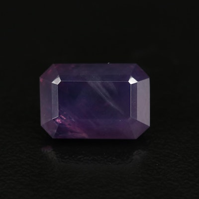 Loose 7.46 CT Kashmir Sapphire with GIA Report