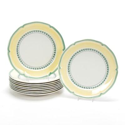 "Villeroy & Boch ""French Garden Vienne"" Porcelain Dinner Plates"