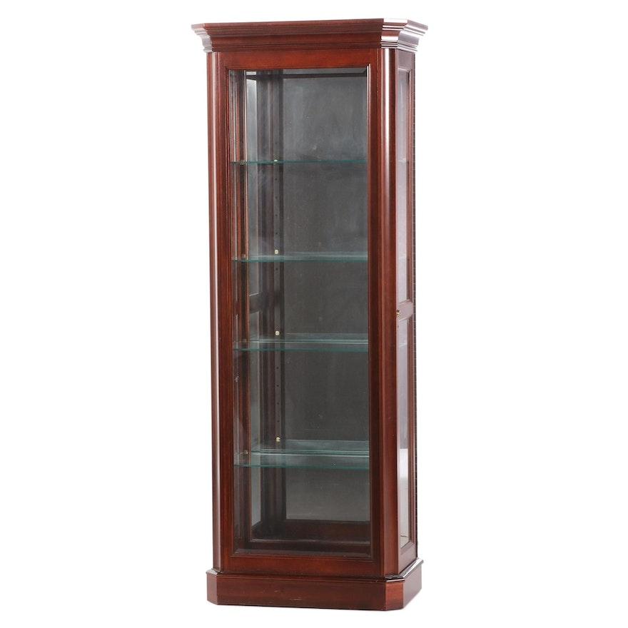 Jasper Cabinet Company Illuminated Display Cabinet, Late 20th Century