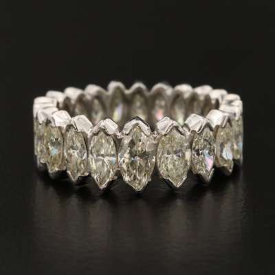 Platinum 5.10 CTW Diamond Eternity Band