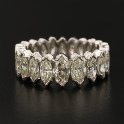Platinum 5.10 CTW Diamond Eternity Band