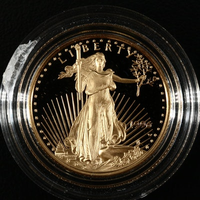 1996-W 1/4 Oz. $10 Gold Eagle Proof Bullion Coin
