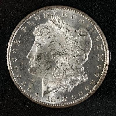 GSA Uncirculated 1878-CC Morgan Silver Dollar